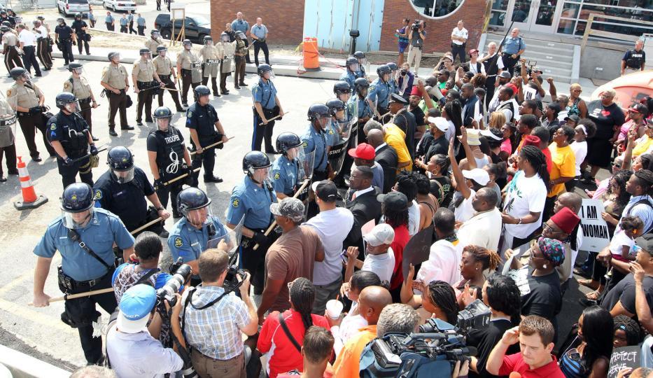 Ferguson's Arab Spring