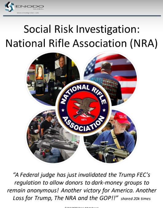 Social Risk Investigation: National Rifle Association