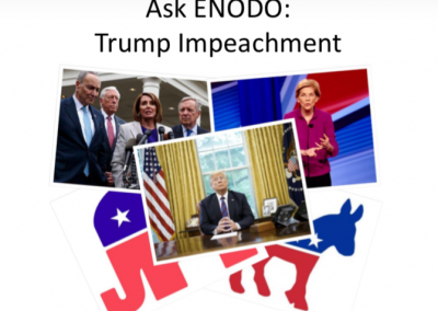 Ask ENODO: Trump Impeachment