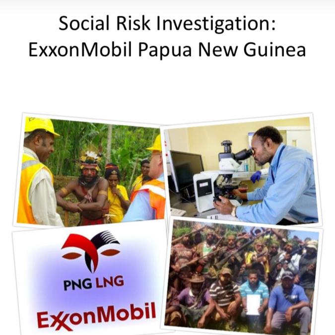 Social Risk Investigation: ExxonMobil