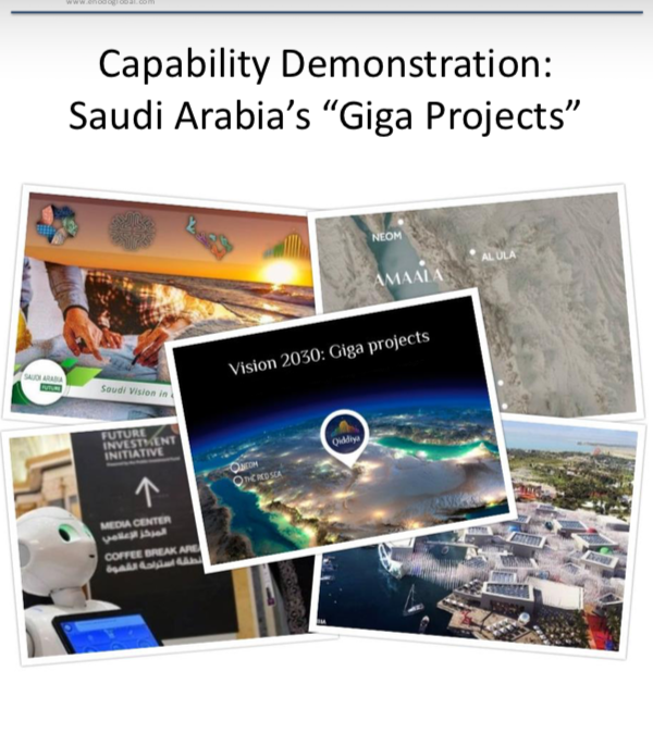 "Capability Demonstration: ""Giga Projects"""