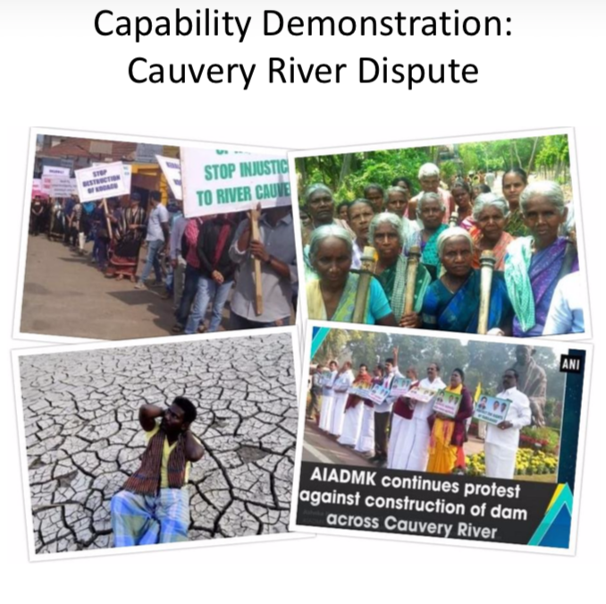 Capability Demonstration: Cauvery River Dispute