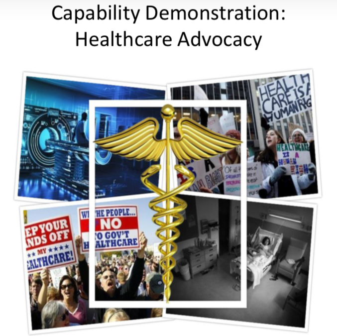 Capability Demonstration: Healthcare Advocacy