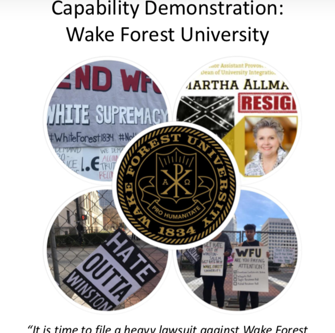 Capability Demonstration: Wake Forest University