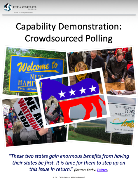 Capability Demonstration: Crowdsourced Polling