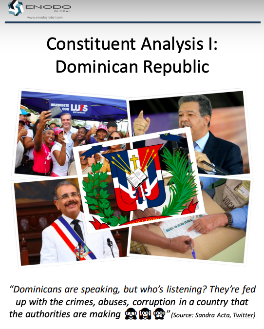 Constituent Analysis I: Dominican Republic