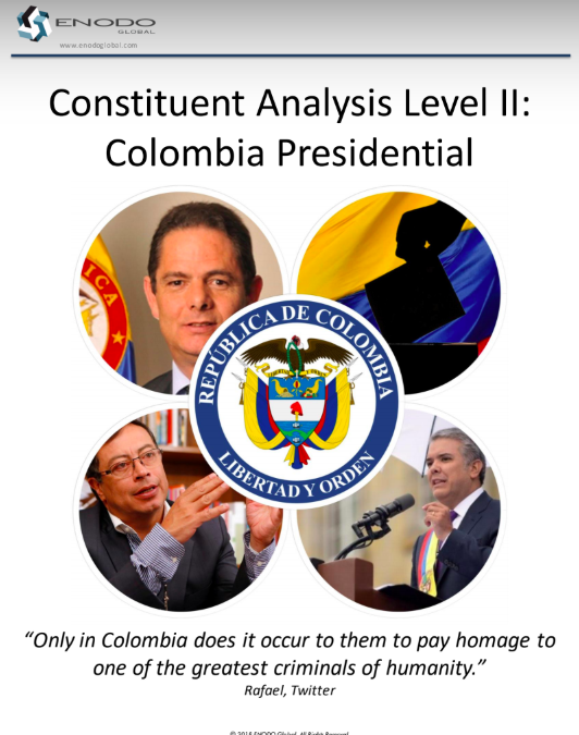 Constituent Analysis II: Colombia Elections