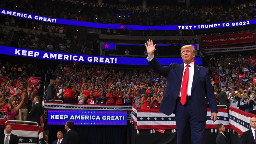 Trump Wins 2020 Presidential Election